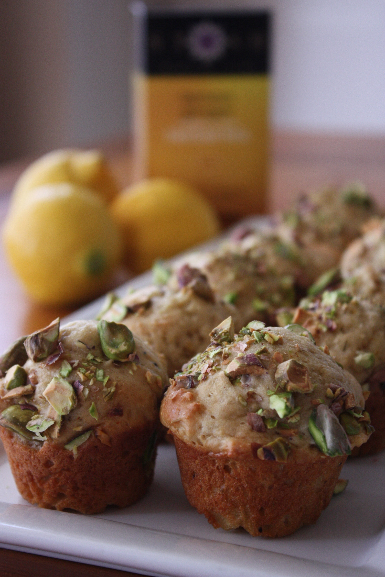 Lemon Ginger Tea Muffins (with Chobani yogurt). - Knead to Cook