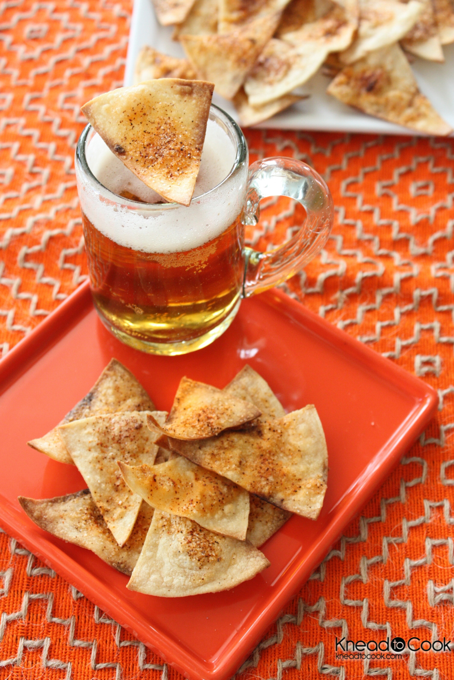 Homemade Tortilla Chips - You pick the flavor! - Knead to Cook