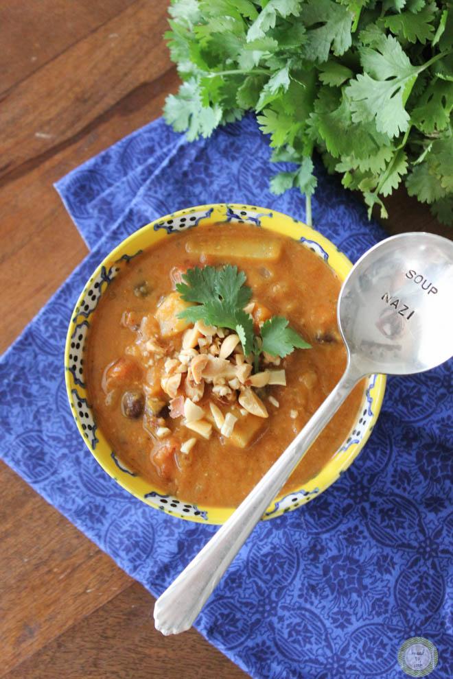 Pumpkin Peanut Stew. Vegan. Gluten Free.