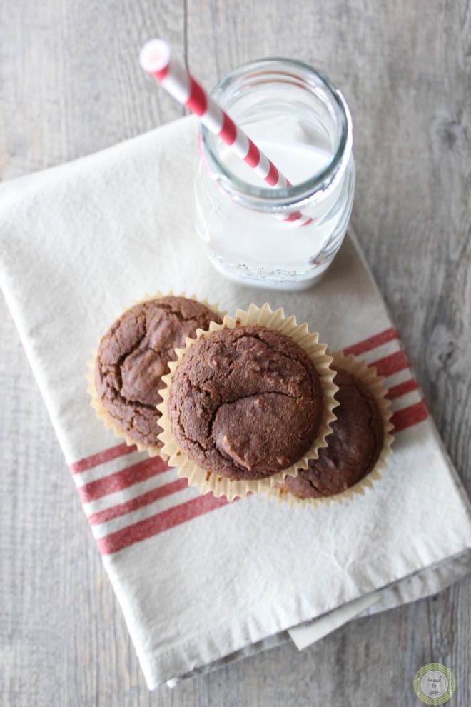 Gingerbread Muffins. Vegan and GF.