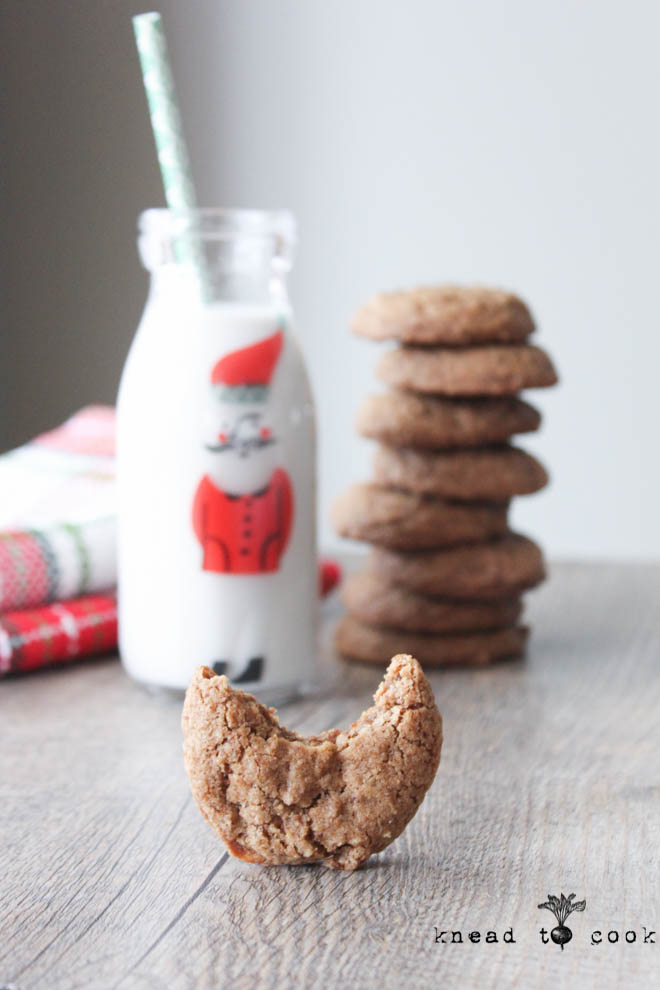 Cinnamon Cookies. Vegan and Gluten Free | Knead to Cook.