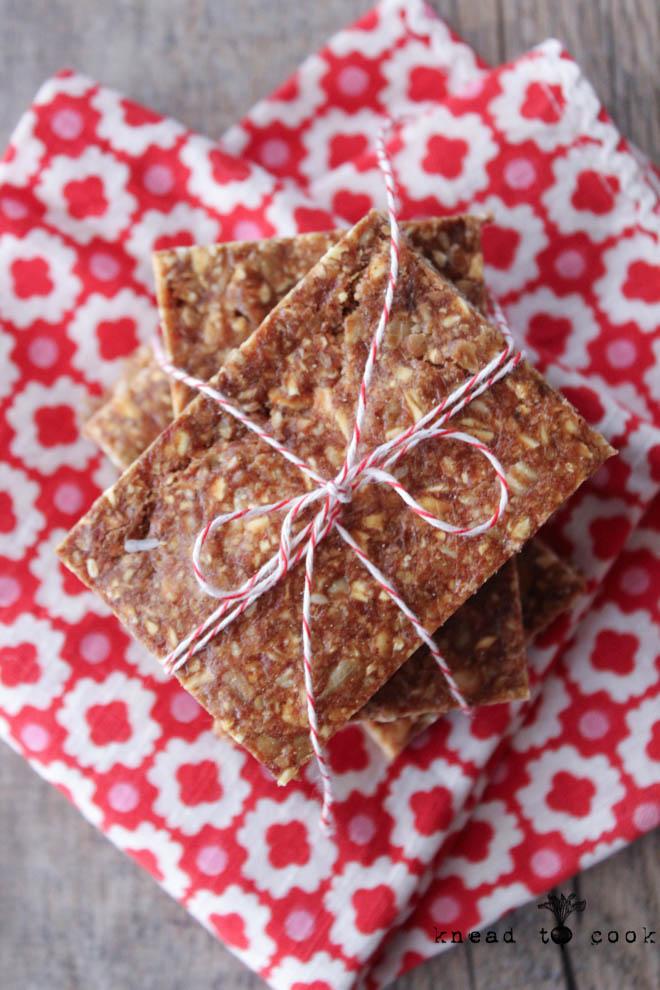 Oat almond granola bars.  Vegan. Gluten Free.