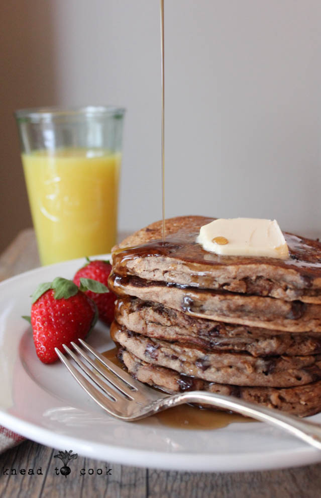 Healthy Elvis Vegan and Gluten Free Pancakes.