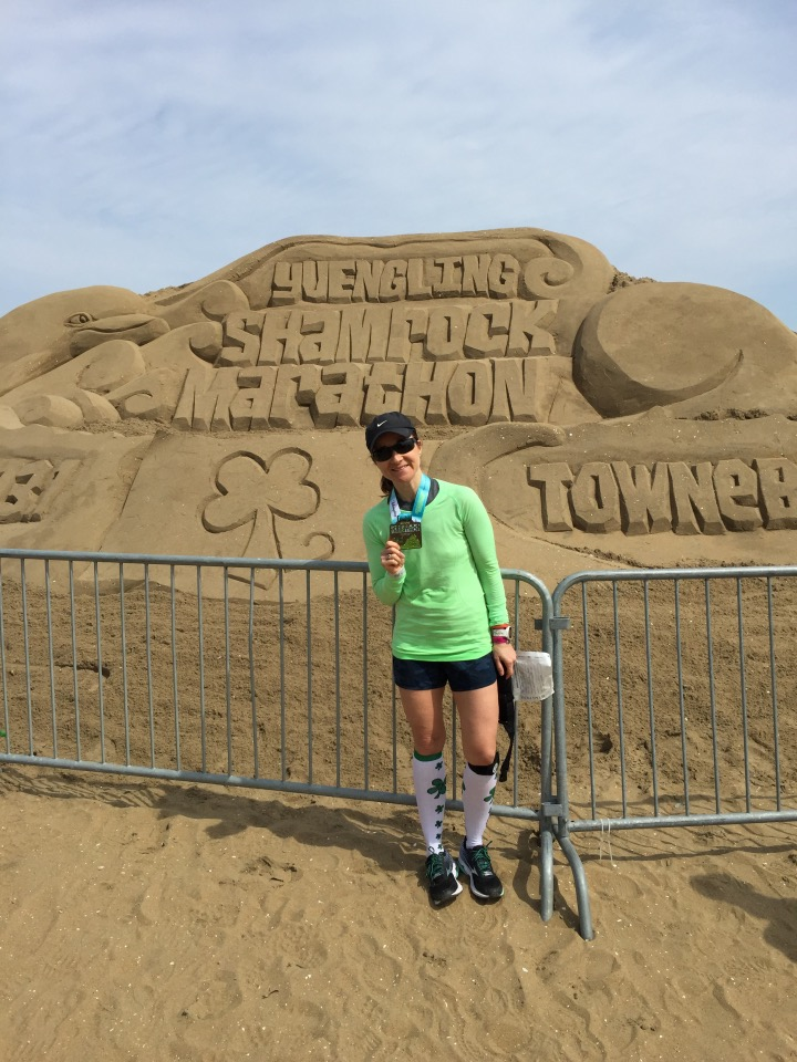 Yuengling Shamrock Marathon Completed.