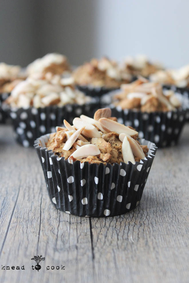 Apple Carrot Muffins. GF. Vegan.