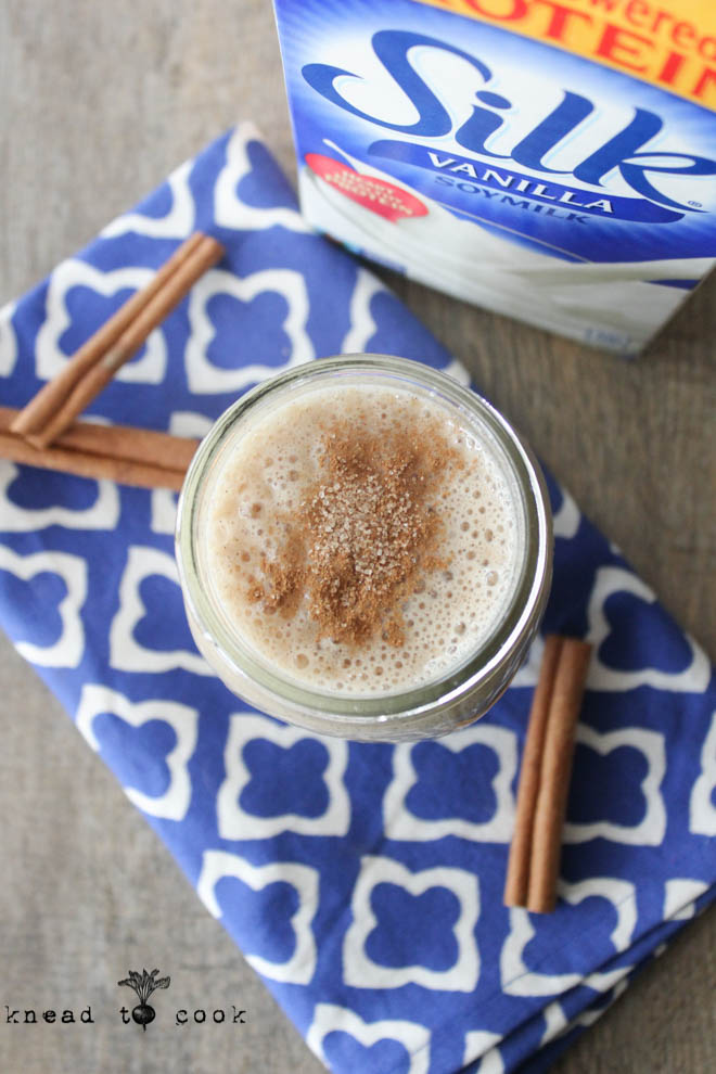 Cinnamon Toast Smoothie. Vegan. Gluten Free.