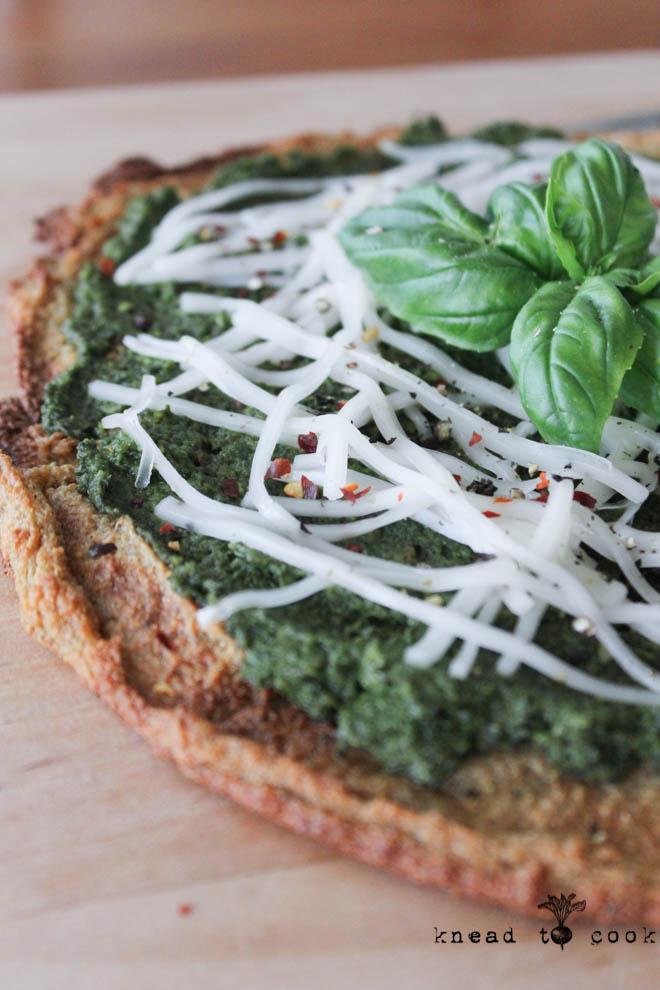 Quinoa Pizza Crust. Vegan.  Gluten Free.