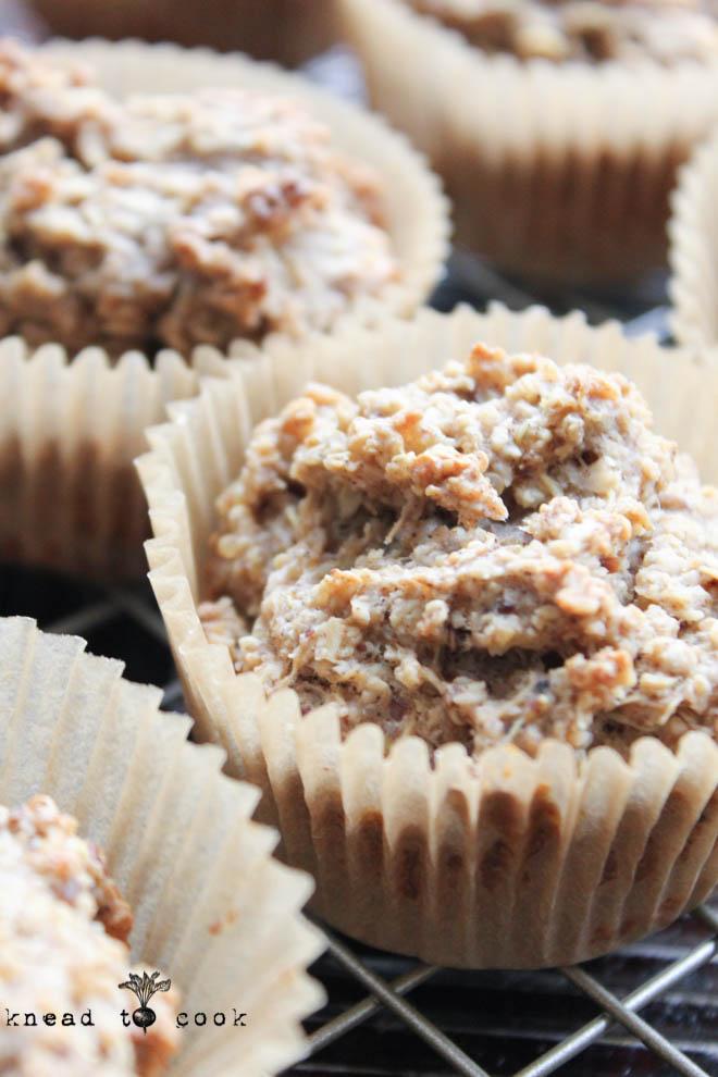 Banana Quinoa Muffins. Vegan. Gluten Free.