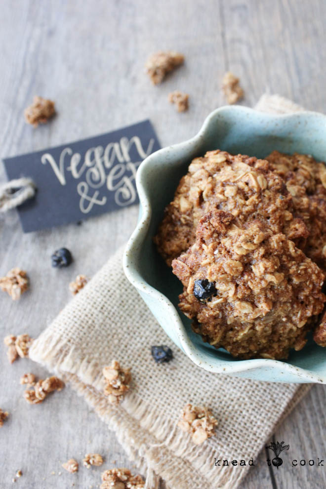 Purely Elizabeth Granola Breakfast Cookies. Vegan. GF.
