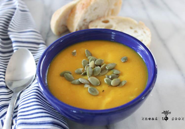 Kohlrabi Veggie Soup. Vegan. GF.