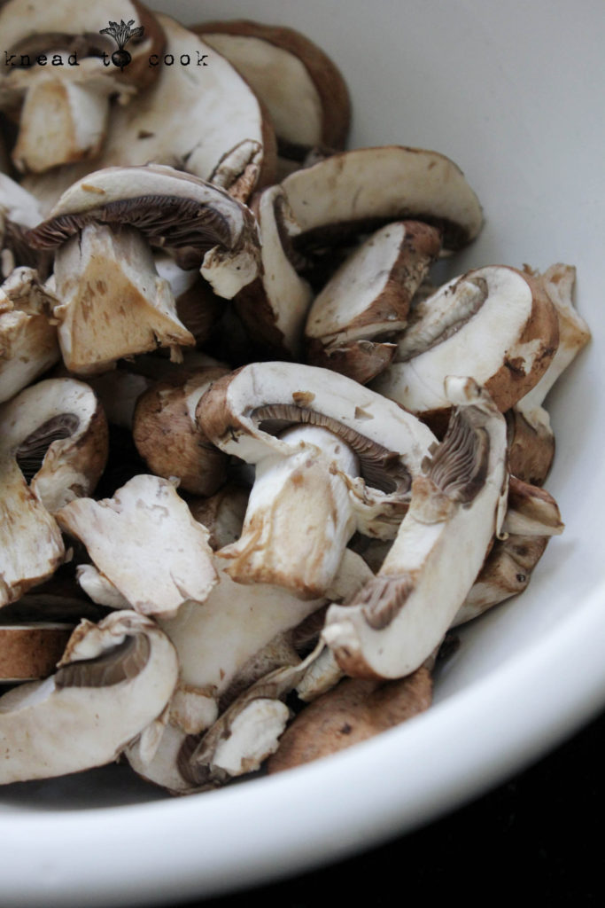 The easiest mushroom bacon  Vegan  Gluten free